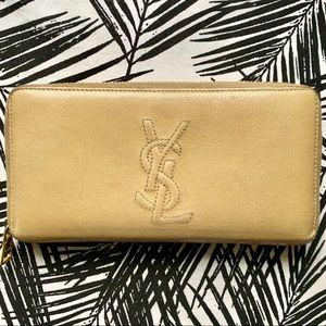 Yves Saint Laurent Zip Wallet
